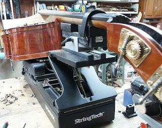 Handling an Upright Bass