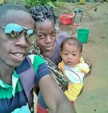 Wife Of Zambia Man Who Is A Maid To Chinese Man Delivers Asian-looking Baby