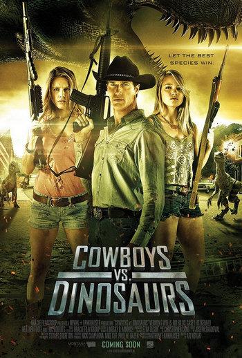 Cowboys VS Dinosaurs Jurassic Hunters (2015) สงครามล่าพันธุ์จูราสสิค (ซาร่า มาลากุล เลน)