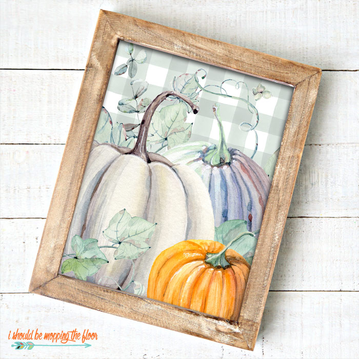Pumpkin Farmhouse Printables