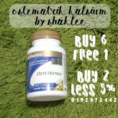 Ostematrik kalsium shaklee