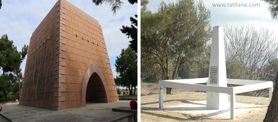 Nuri Yamut Anıtı ve Yarbay Hasan Mezarı