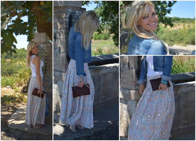 outfit maxi gonna come abbinare una maxi gonna abbinamenti maxi gonna how to wear maxi skirt maxi skirt outfit mariafelicia magno fashion blogger colorblock by felym fashion blog italiani fashion blogger italiane blogger italiane di moda outfit ottobre web influencer italiane web influencer
