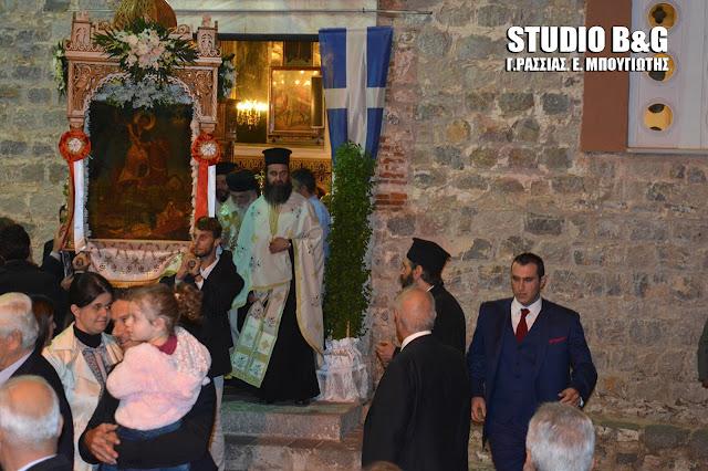 Η Ασίνη γιόρτασε τον Άγιο Δημήτριο