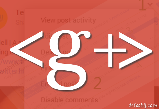 How To Embed Google Plus Photo Post Video in Blog website
