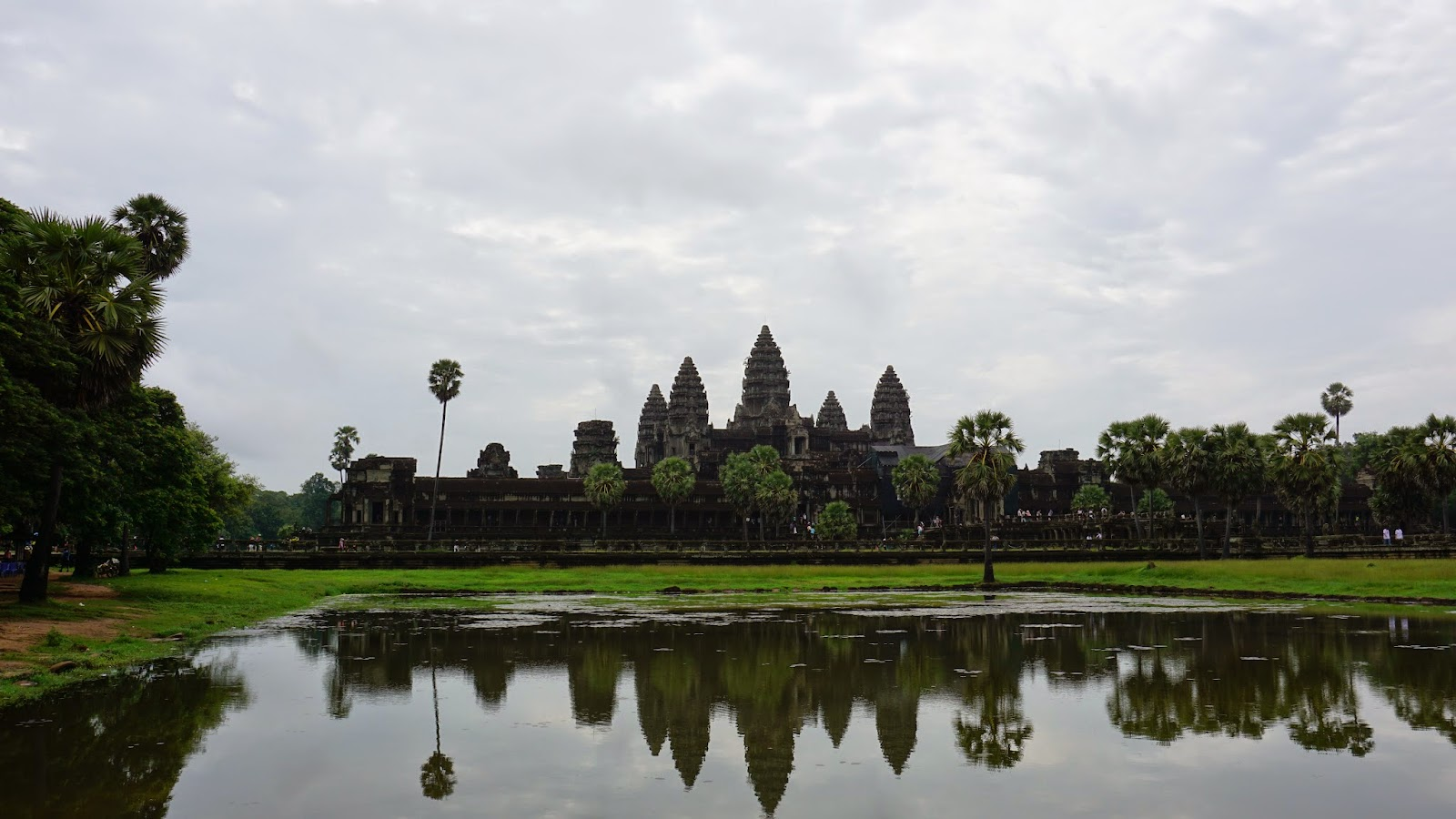 Angkor Wat, the largest religious monument in the world