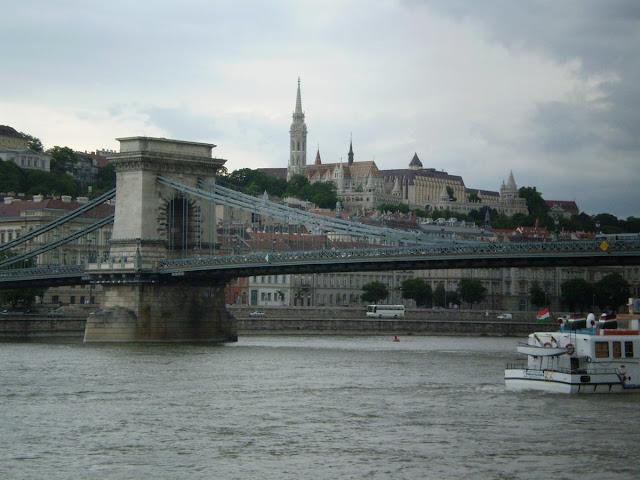 Puente de las Cadenas, puentes del Danubio, puentes de Budapest