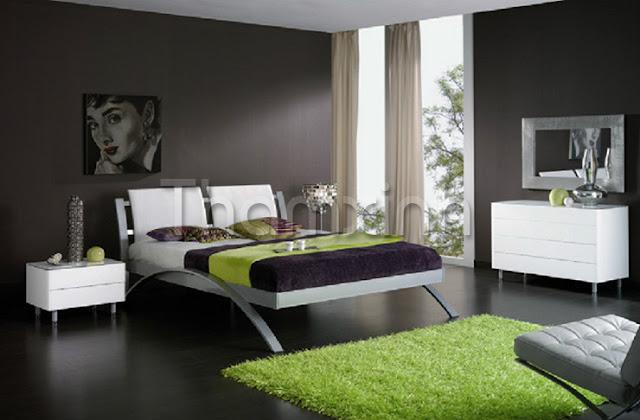 Thảm trải phòng ngủ nhà hướng Bắc