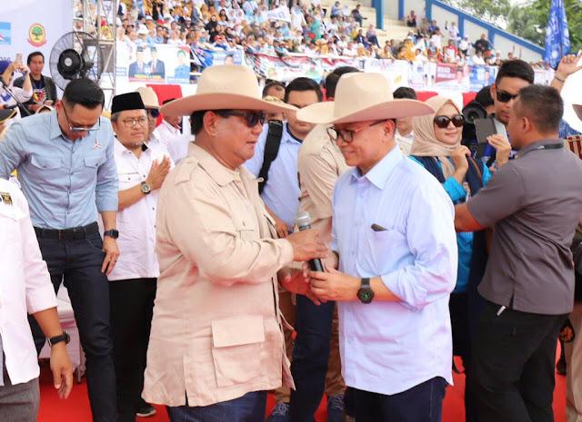 Ketum PAN: Insyaallah 17 April Sore Prabowo jadi Presiden