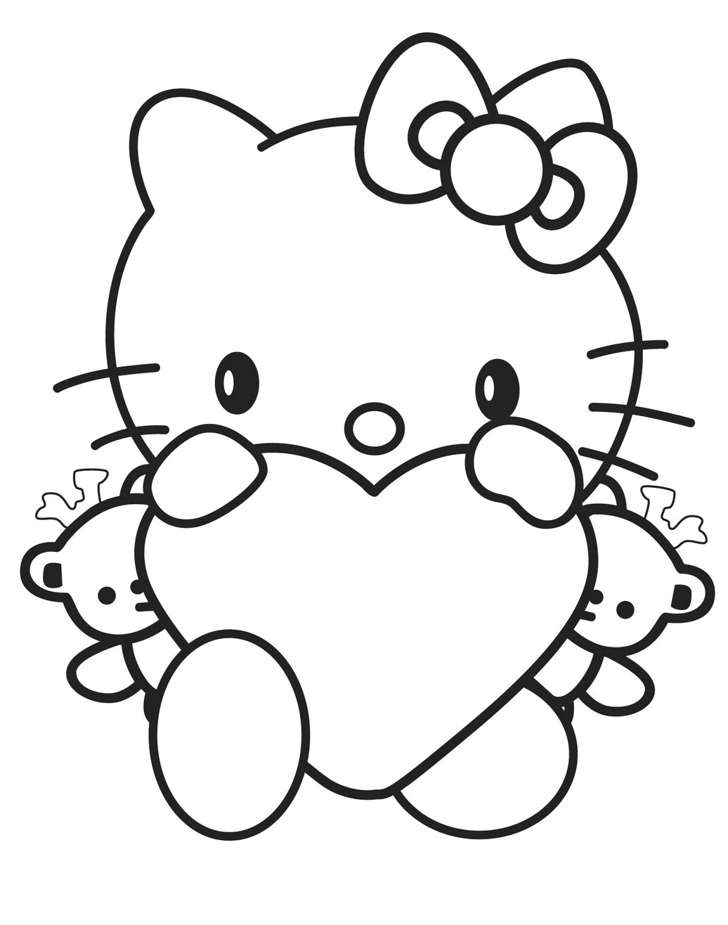 hello kit coloring pages - photo#21