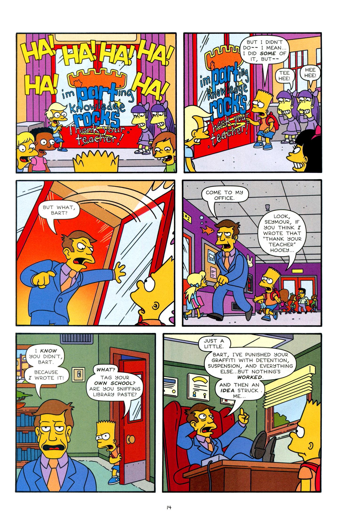 Read online Simpsons Comics Presents Bart Simpson comic -  Issue #63 - 16