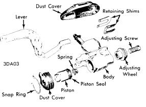 Datsun (Nissan) 260Z 1974 Brake Repair Manual Auto Motive