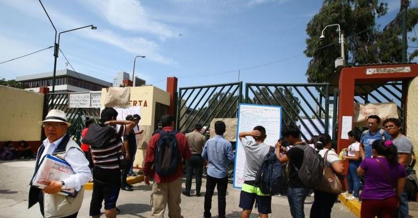 Fiscalía denunciaría a responsables de la toma de Universidad San Marcos