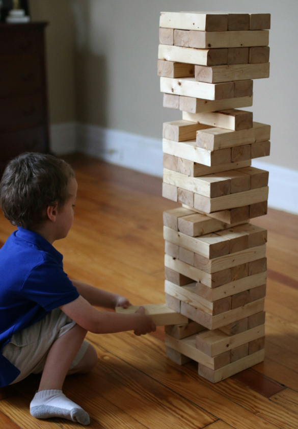 How To Build A Tower Out Of Jenga Blocks