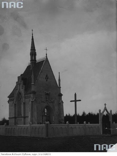 Часовня-усыпальница Рейтанов в 1928 году