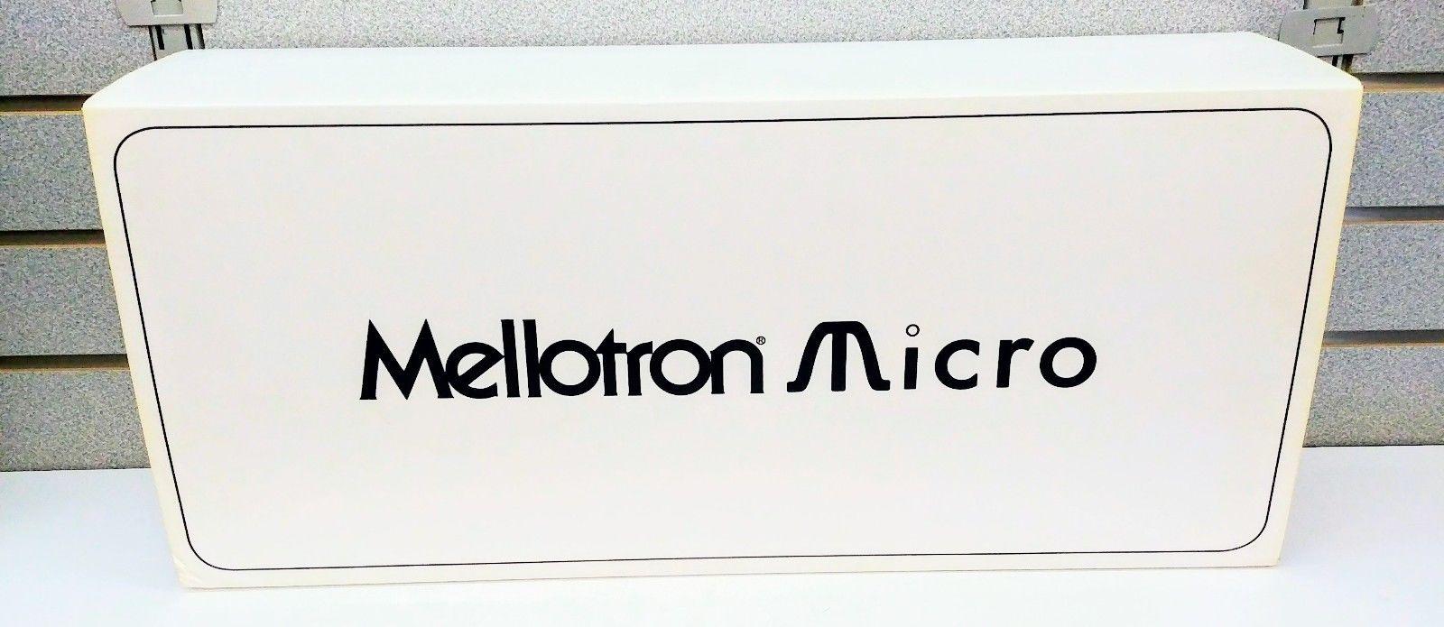 MATRIXSYNTH: Mellotron Micro SN 0041 w/ Original Box