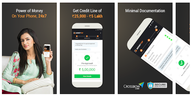 Personal Loan, Credit Card App - MoneyTap Apps