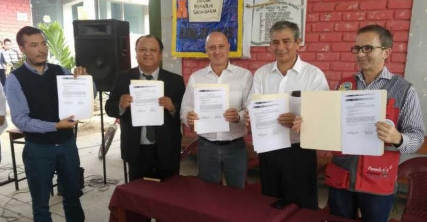 Ministerio de Educación entrega terrenos para construir cinco colegios en Piura - MINEDU - www.minedu.gob.pe