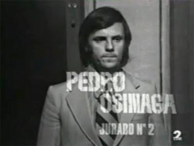 Resultado de imagen de Pedro Osinaga; 12 hombres sin piedad