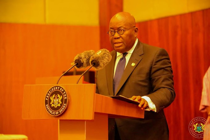 Akufo-Addo arrives in Monrovia for his first ECOWAS summit