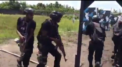 Nigerians Soldiers Display Their Shooting And Tactics On Training Ground