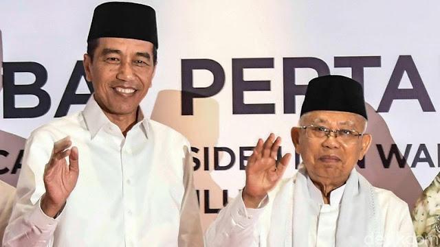 Buka Debat Capres, Jokowi Singgung Penyelesaian Pelanggaran Berat HAM