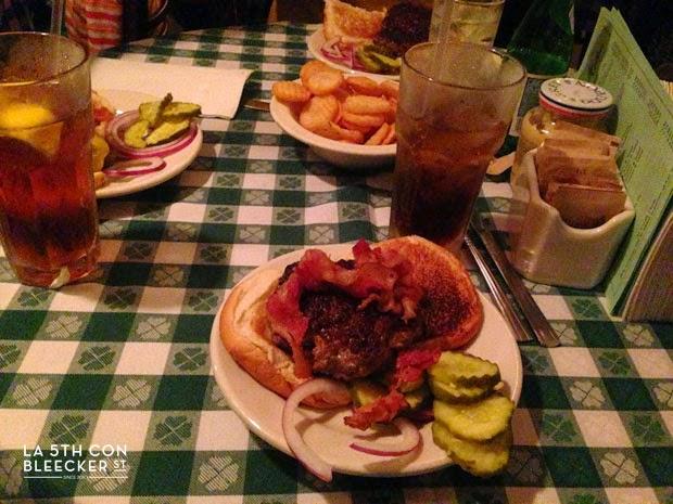 hamburguesas en Nueva York p.j.clarke's