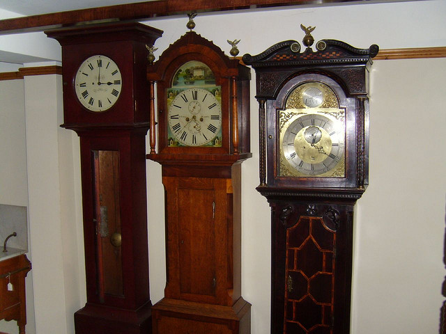 Antique Grandfather Clock Parts: Antique Grandfather Clock Parts