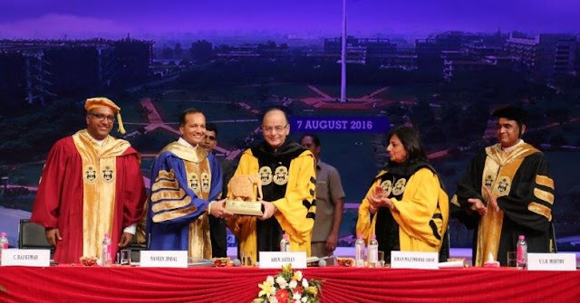 O. P. JINDAL GLOBAL UNIVERSITY CELEBRATES 5TH CONVOCATION