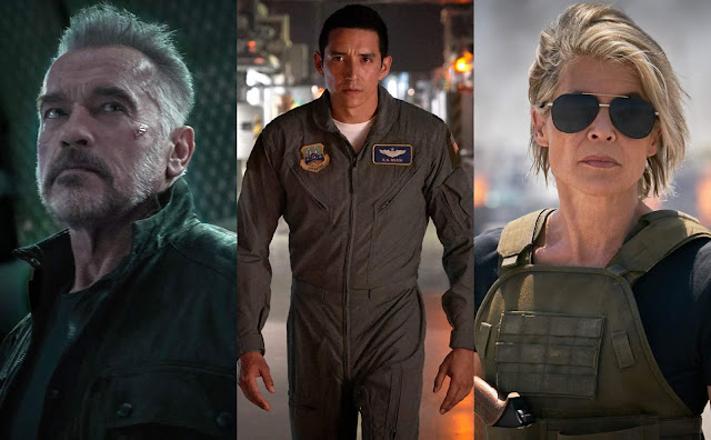 """Schwarzenegger e Hamilton estão de volta em novas imagens de """"O Exterminador do Futuro 6"""""""