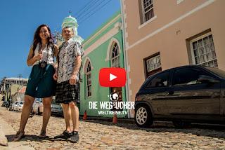 Buntes Islam Viertel Bo-Kaap in Kapstadt, Südafrika, Weltreise, Arkadij und Katja aus Bremerhaven