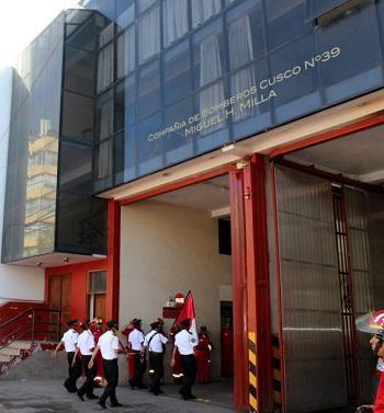 Estación de Bomberos Voluntarios Cusco Nº 39