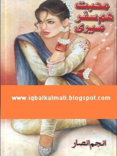 Mohabbat Humsafar Meri by Anjum Ansar Novel PDF