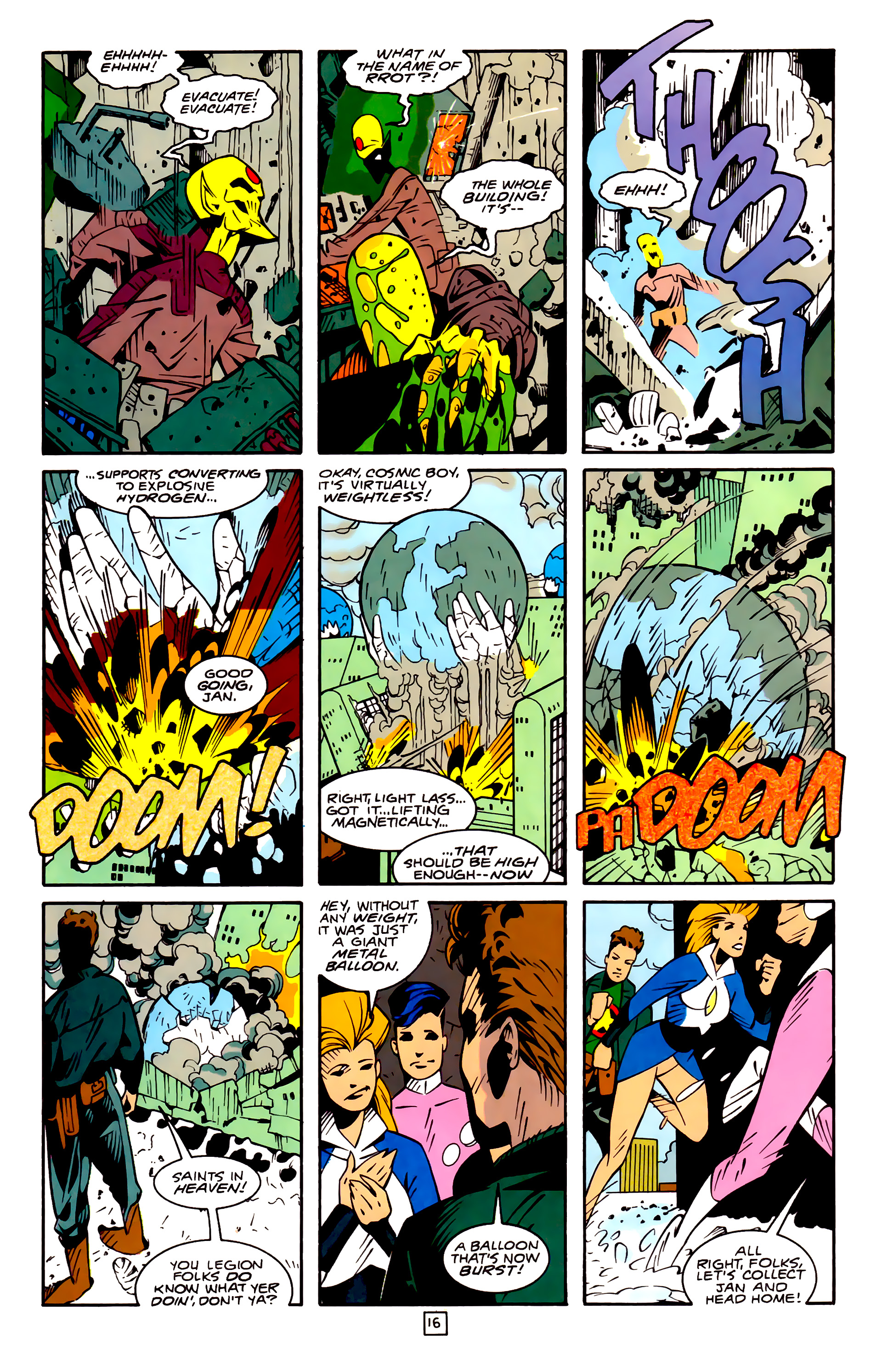 Legion of Super-Heroes (1989) 32 Page 16