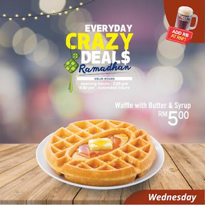 A&W Malaysia Ramadhan Crazy Deals