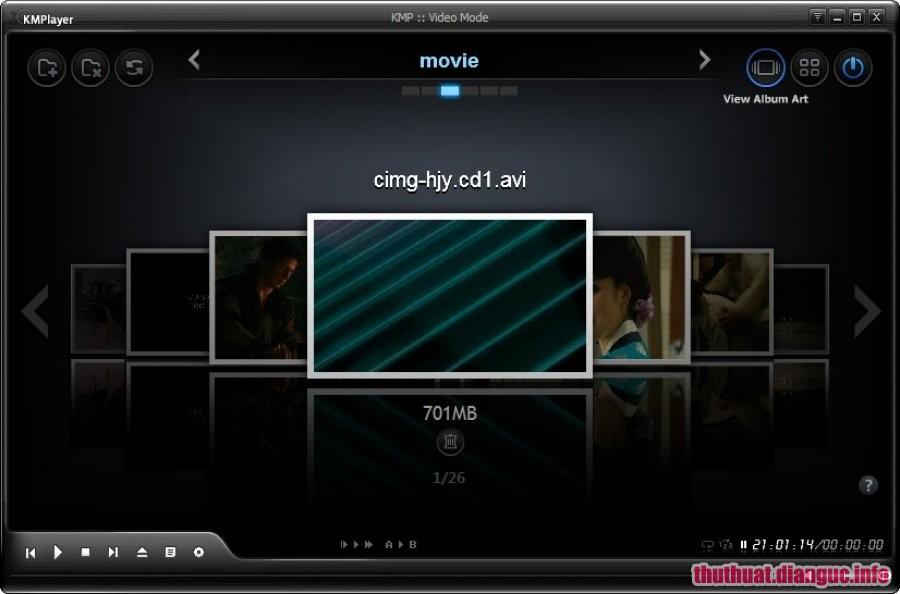 Download KMPlayer 4.2.1.4 mới nhất 2017 - Phần mềm nghe nhạc, xem phim
