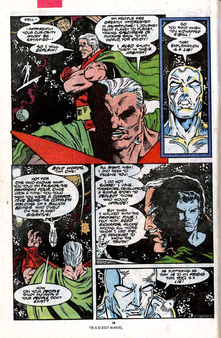 Read online Silver Surfer (1987) comic -  Issue #31 - 20
