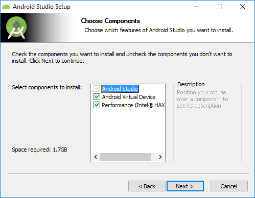 2 android studio installation