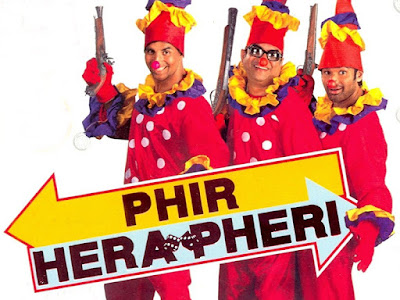 Paresh Rawal Dialogues from Phir Hera Pheri, Johnny Lever Dialogues from Phir Hera Pheri