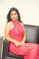Sakshi Kakkar in Red Legsplit Sleeveless Gown at Dare movie Press meet ~  Exclusive 061.JPG