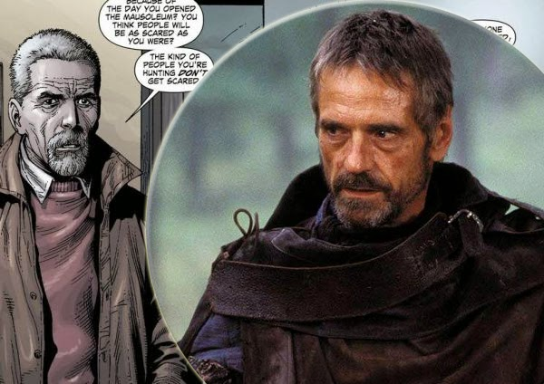 "Jeremy Irons sera Alfred en ""Batman Vs. Superman"""