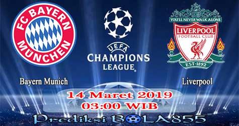 Prediksi Bola855 Bayern Munich vs Liverpool 14 Maret 2019