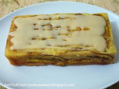 Resep Cake Pisang dengan Cream Cheese