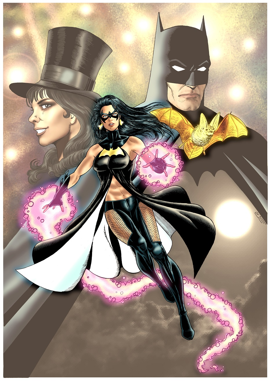 ALEX GARCIA: BATGIRL: the daughter of Zatanna and Batman