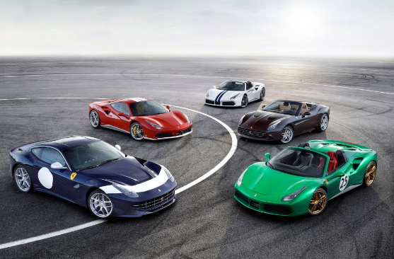 Ferrari commemorates 70th anniversary with 70 renowned paintjobs