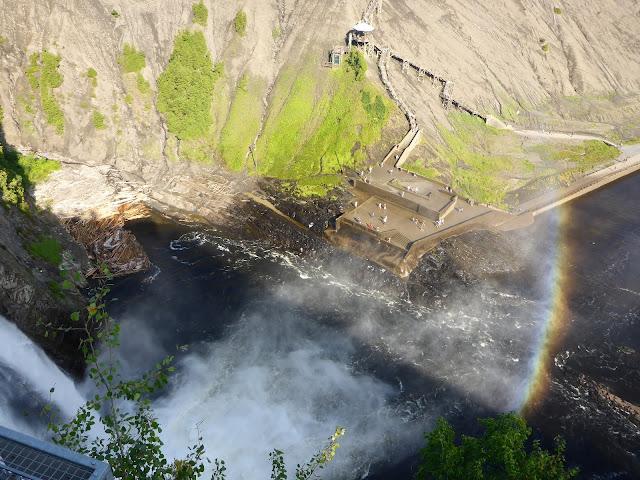 chutes de Montmorency Québec