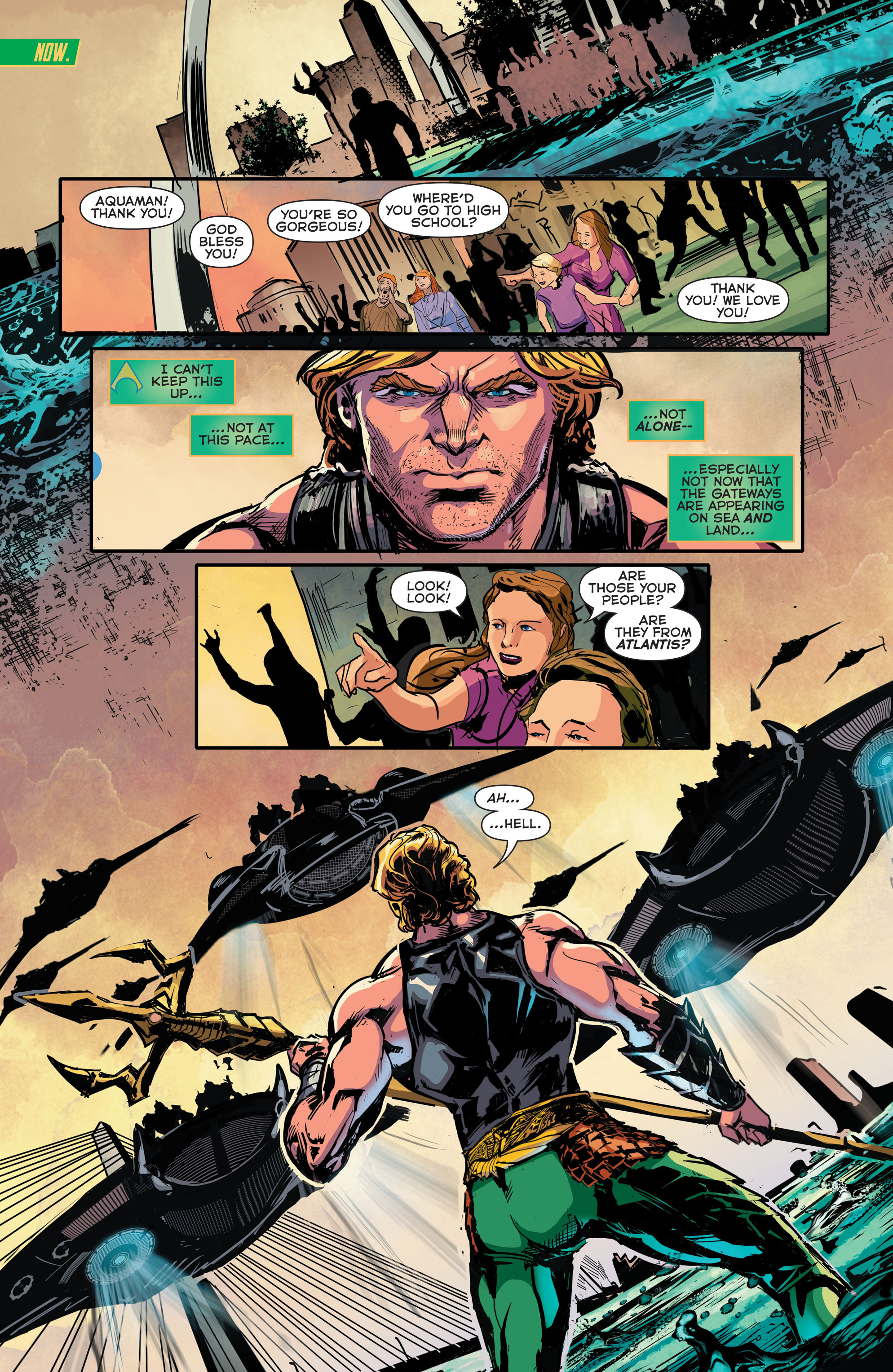 Read online Aquaman (2011) comic -  Issue #41 - 17