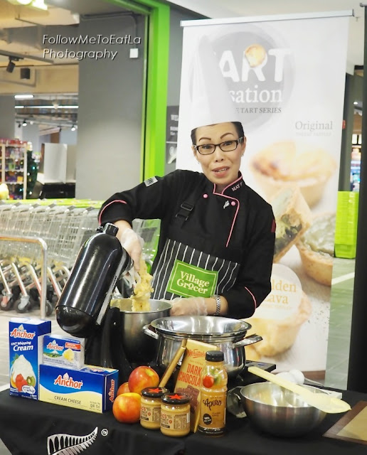 Chef May Foo Baking With The Best Lava Cheese Tarts With Anchor Cheeses