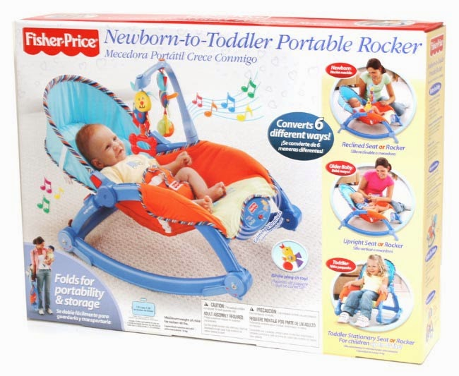 Fisher-Price Infant-to-Toddler Rocker (Blue)