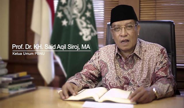 AMANAT PROF. DR. KH SAID AQIL SIROJ, MA  PADA PERINGATAN HARI SANTRI TANGGAL 22 OKTOBER 2018